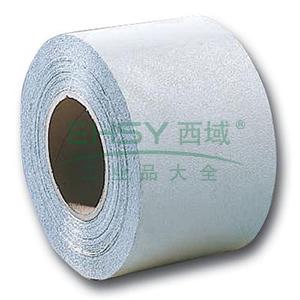 道路划线胶带(白)-反光玻璃微珠涂层,背覆超强胶黏剂,白色,150mm×33m,11124
