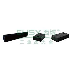 防撞缓冲块-优质原生橡胶,黑色,重8kg,含安装配件,330×250×100mm,11048