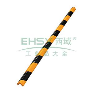 经济型防撞条(直角)-发泡橡胶材质,黄黑条纹,31×31×900mm,14492