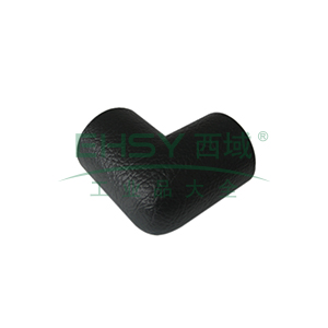 双向护角-耐寒PU材质,黑色,65×65×15mm,4个/包,11418