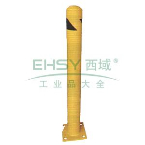 钢制高位防撞柱-钢制,黄色粉末喷涂,含安装配件,壁厚3mm,Φ115×1067mm,11214