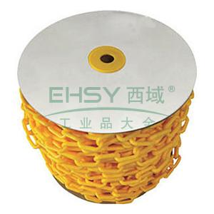 塑料链-高强度PE塑料,黄色,50mm×30m,14112