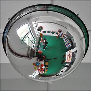 球面镜-进口柔性PC镜面,含安装配件,Φ600mm,14308
