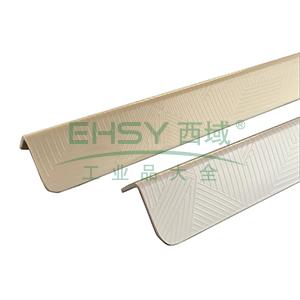 PVC墙面护角-进口PVC材质,交叉纹,白色,内附双面胶,36mm×36mm×1.5m,厚2.2mm,10根/包,15503