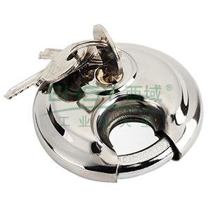 不锈钢圆形挂锁-不锈钢锁体,锁体Φ70mm,锁梁Φ9.5mm,14764