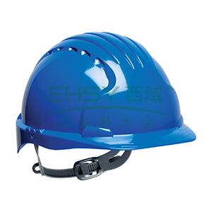 JSP 01-9013 威力9 ABS T类安全帽,蓝色(滑扣式)