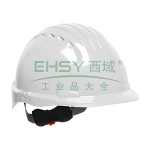 JSP 01-9022 威力9 ABS T类安全帽,白色(调整轮)