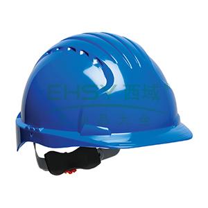 JSP 01-9023 威力9 ABS T类安全帽,蓝色(调整轮)