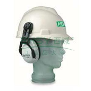 MSA SOR10012  EXC卓越型配安全帽用耳罩,SNR-26