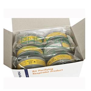 霍尼韦尔有机/酸性气体滤盒,B100300,6只/盒