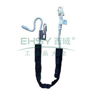 霍尼韦尔 16mm限位系绳,配有绳长调节器和1个抓钩,2米,DL-25A