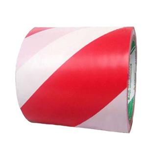 红白相间PVC地面胶带,75mmx22m