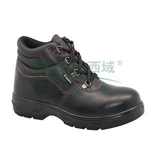 希玛 电工牛皮安全鞋,防砸防滑电绝缘,45,58065(同系列30双起订)