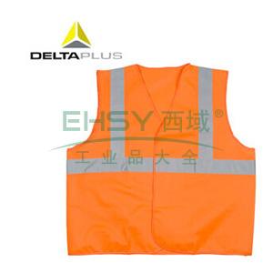 代尔塔 梭织荧光马甲 ,404402,橙色,均码