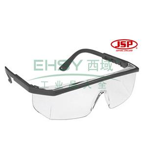 JSP 海查防护眼镜(黑边防雾),02-1295