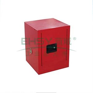 成霖 红色安全柜单门/手动,1块可调层板4加仑,CL800401