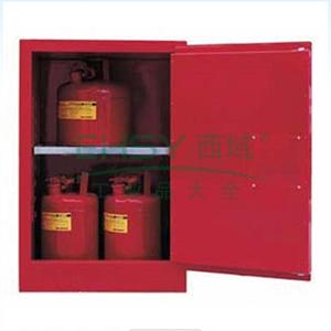 成霖 红色安全柜单门/手动,1块可调层板12加仑,CL801201
