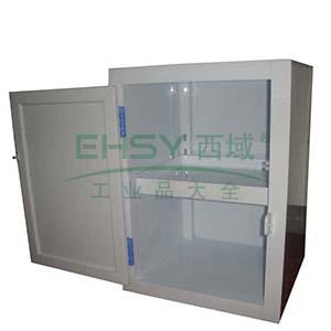 成霖 瓷白色强酸强碱柜单开门,一块层板尺寸H590*W430*D430mm,CL-P590
