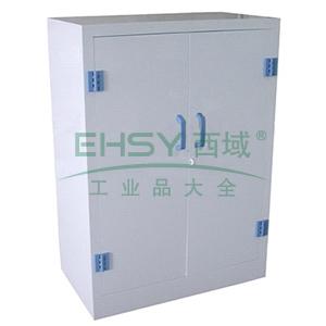 成霖 瓷白色强酸强碱柜双开门,两块层板尺寸H900*W910*D600mm,CL-P900
