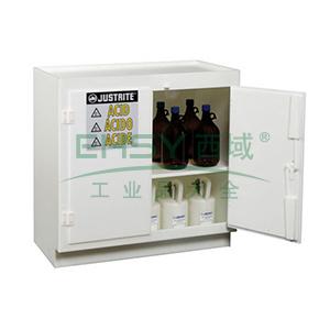 杰斯瑞特 双门实心聚乙烯酸类安全柜,24015