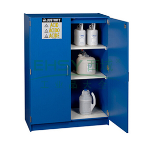 杰斯瑞特 双门蓝色胶合板存储柜,24150