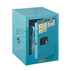 杰斯瑞特 4加仑蓝色安全柜,单门,手动,8904021