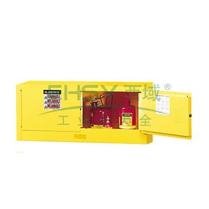 杰斯瑞特 12加仑黄色安全柜,双门,手动,8913001