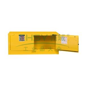 杰斯瑞特 12加仑黄色安全柜,双门,自闭,8913201
