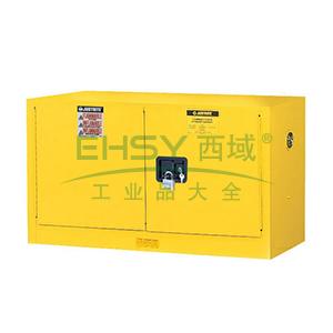 杰斯瑞特 17加仑黄色安全柜,双门,手动,8917001