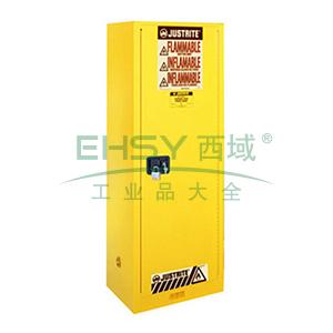 杰斯瑞特 22加仑黄色安全柜,单门,手动,8922001