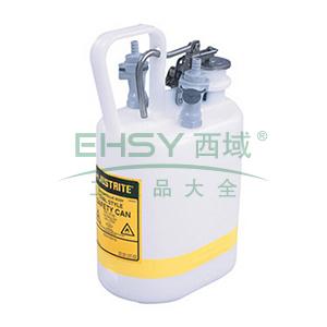 杰斯瑞特 1加仑(4升)HPLC快接聚丙烯废液罐,12160
