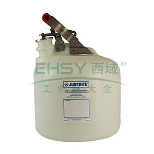 杰斯瑞特 2.5加仑(9.5升)椭圆形聚乙烯废物罐,12260