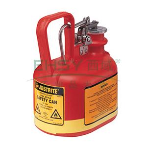 杰斯瑞特 0.5加仑(2升)椭圆形聚乙烯安全罐,14065Z