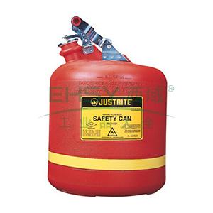 杰斯瑞特 5加仑(19升)圆形聚乙烯安全罐,14561