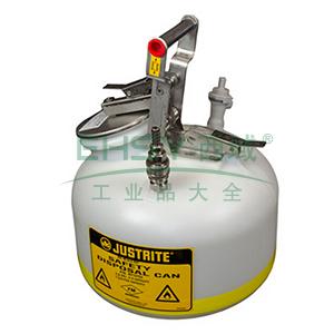 杰斯瑞特 5加仑(19升)HPLC快接不锈钢喷嘴废液罐,BY12755