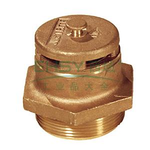 JUSTRITE/杰斯瑞特 钢制圆桶自动泄压阀,用于立式油桶,08101