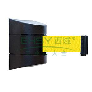 壁挂式伸缩隔离带(3m)-工程塑料外壳,耐用尼龙布隔离带,含安装配件,隔离带长3m,11117