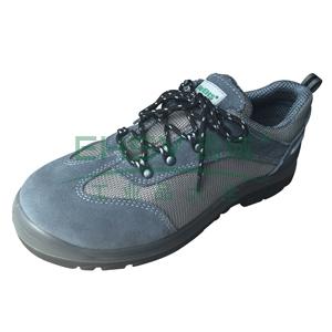 EHS 低帮运动款安全鞋,防砸防刺穿防静电,灰色,43,ESS1612