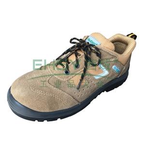 EHS 低帮运动款安全鞋,防砸防静电,土黄色,35,ESS1621