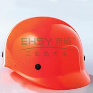 蓝鹰 HDPE轻便帽,不含下颚带,橘色,BP65OR