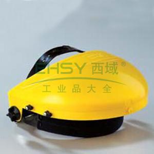 蓝鹰B1YE ABS头盔支架(黄),旋扭调节,不含面屏