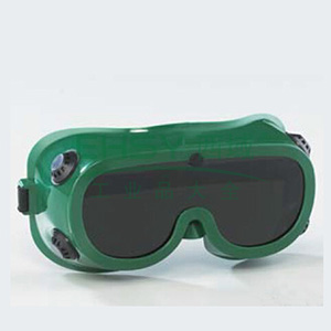 蓝鹰 NP1065护目镜,PC 1.0mm ,深绿,遮光号5,防尘防冲击防紫外线(不防雾),间接透气