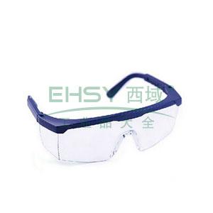 罗卡AL-026 防护眼镜,蓝色镜架,无色镜片(防雾)