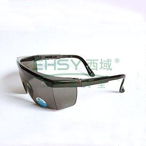 罗卡AL-026 防护眼镜,蓝色镜架,烟色镜片