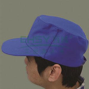 全棉春秋工作帽,65/35,大众蓝