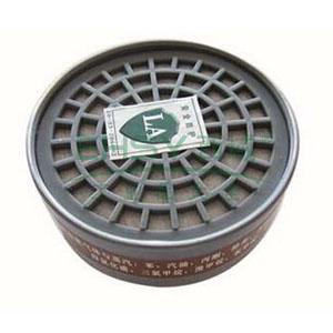 以勒3号圆形滤毒盒,2个/包,9700A面具套装配套滤盒