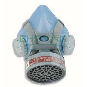 以勒硅胶单盒防毒半面具(含3号滤毒盒10-Mar)