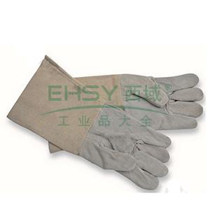 国产 72302 牛皮五指电焊手套 37cm,均码