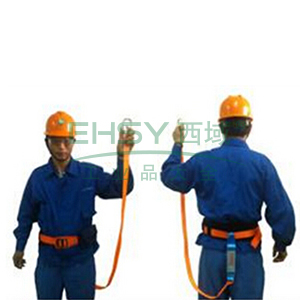 奎楼 单挂点式安全带,1.8米,GZ-Y单腰轻便型安全腰带套装