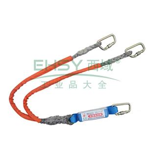 奎楼 缓冲减震系绳,双头小钩,GHD-B20